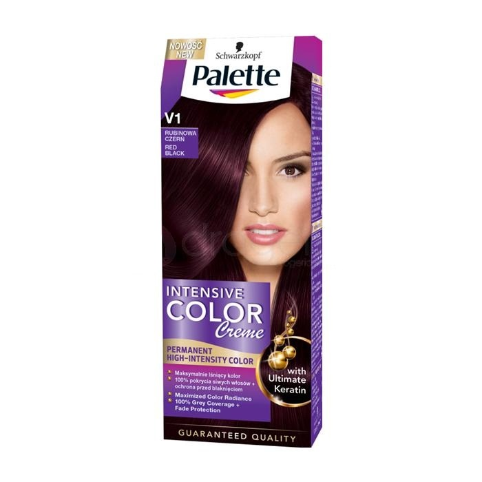 Palette Intensive Color Creme V1 Rubinowa Czerń 100ml