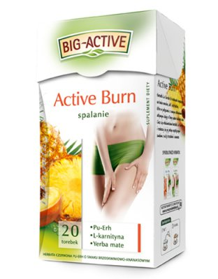 Big-Active Active Burn Spalanie - Suplement diety
