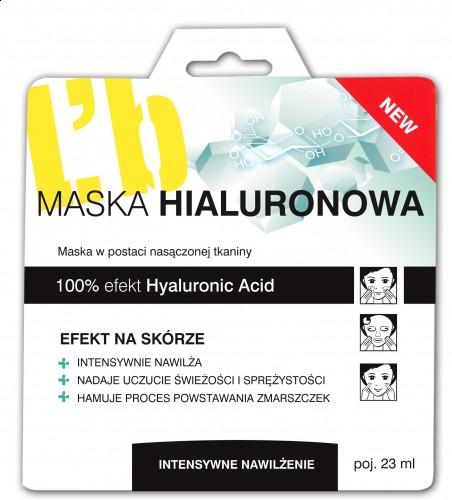 L'biotica Maska Hialuronowa 23ml