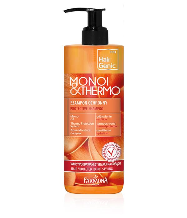 Hair Genic Monoi & Thermo Szampon Ochronny 400ml