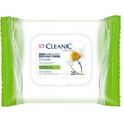 Cleanic Intimate Chusteczki do Higieny Intymnej Łagodzenie i Pielęgnacja x20