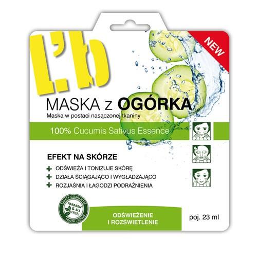 L'biotica Maska z Ogórka 23ml