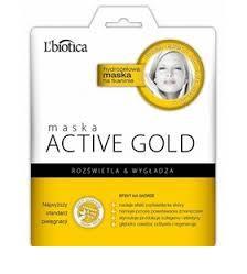 L'biotica Maska Active Gold 25ml