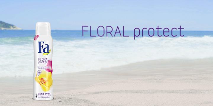 FA Floral Protect 48h Anti-Perspirant Orchidea i Fiołek 150ml