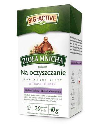 Big-Active Zioła Mnicha Na Oczyszczanie W Trosce O Nerki - Suplement diety