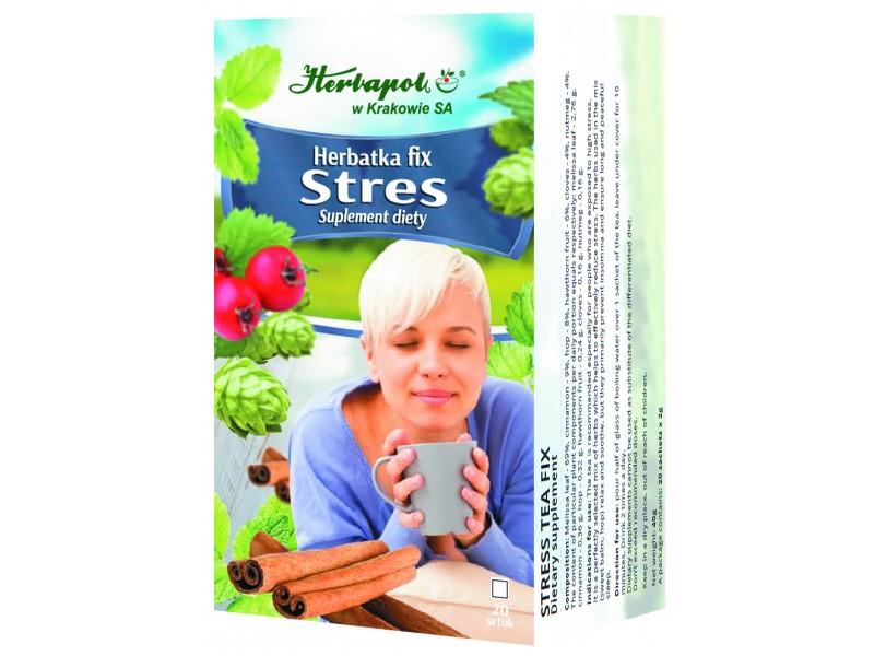 Herbapol Suplement Diety Herbatka Fix Stres