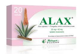 Alax 20 tabletek drażowanych