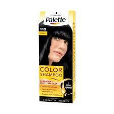 Palette Color Shampoo 113 czarny No ammonia 50ml