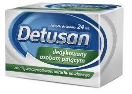 Detusan 24 tabletki do ssania
